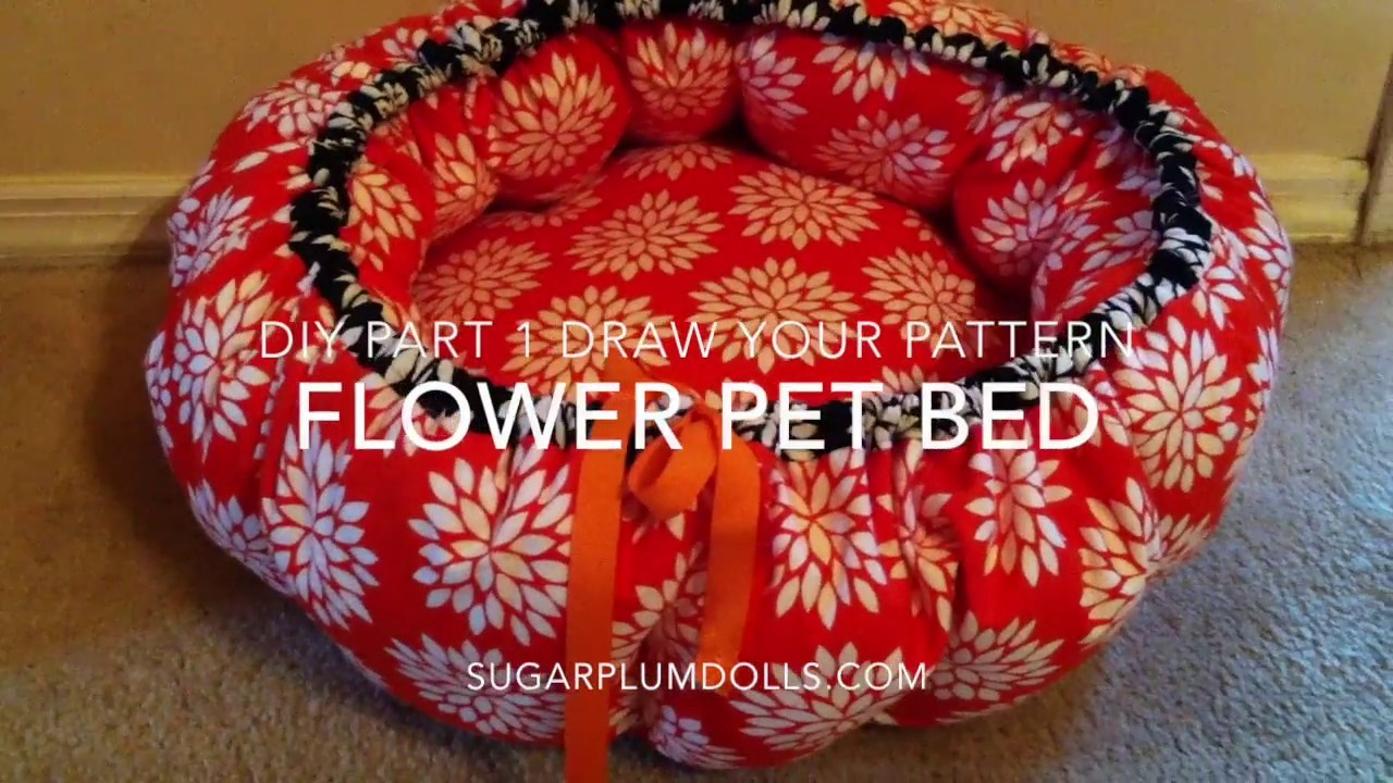 Flower Pet Bed DIY