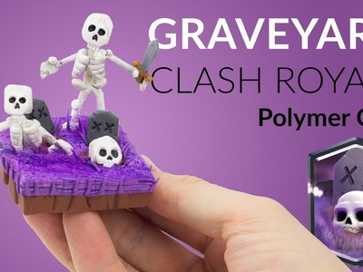 Graveyard (Clash Royale) | HALLOWEEN-SPECIAL – Polymer Clay Tutorial