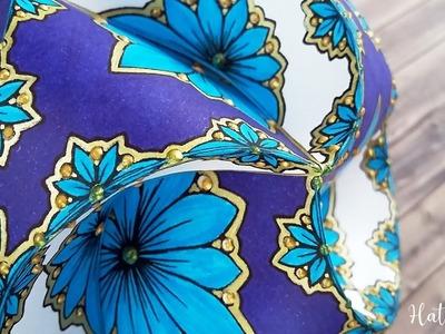 Hattifant - Triskele Paper Globes - Flower Edition TUTORIAL