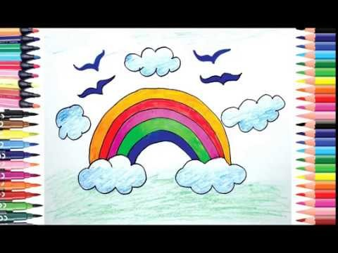 How To Draw Rainbow For Beginners Draw For Kids Color For Children