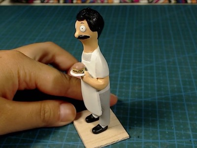 How to Make a POLYMER CLAY Bob Figure - Part 4.4