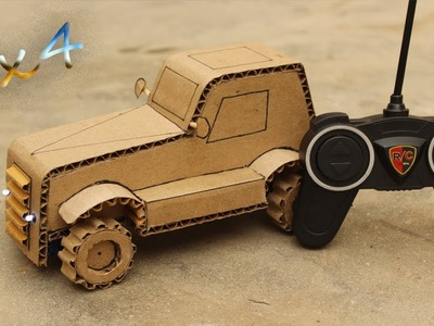 How to Make Amazing Car with Cardboard ! DIY Awesome Car