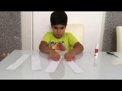 How to make an origami paper spring!!!!