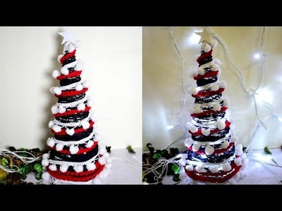 How to make Christmas tree | DIY Christmas decoration ideas | Best out of waste