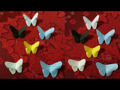 How to make colourful butterfly with Paper DIY Craft LifeStyle Designs