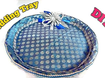 How to make Decorative Wedding Tray at home || DIY ||