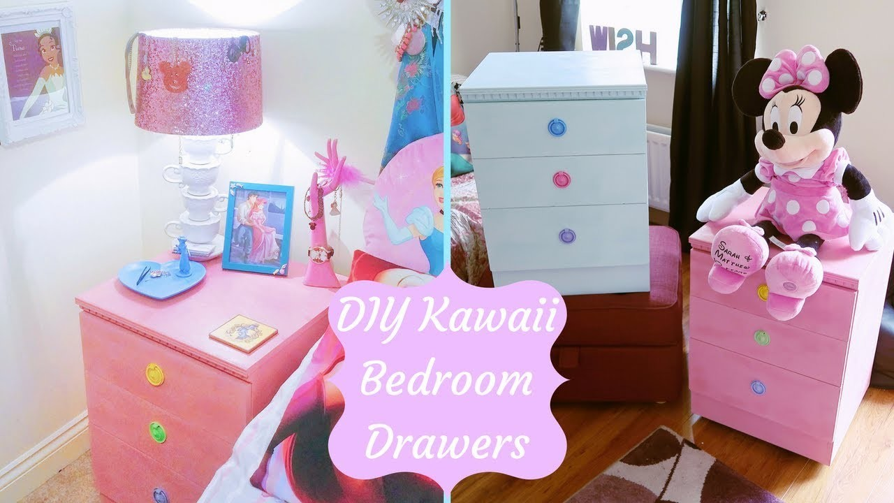 Kawaii Pastel Bedroom Furniture | DIY