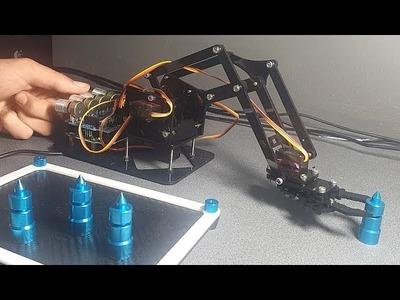 MAKING MY FIRST ROBOT ARM - DIY