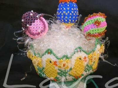 Mani di fata art decoration Tissage con perline 4 - Tissage with beads