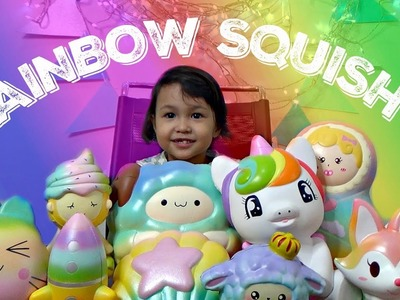 ???? MY RAINBOW SQUISHY COLLECTION ????