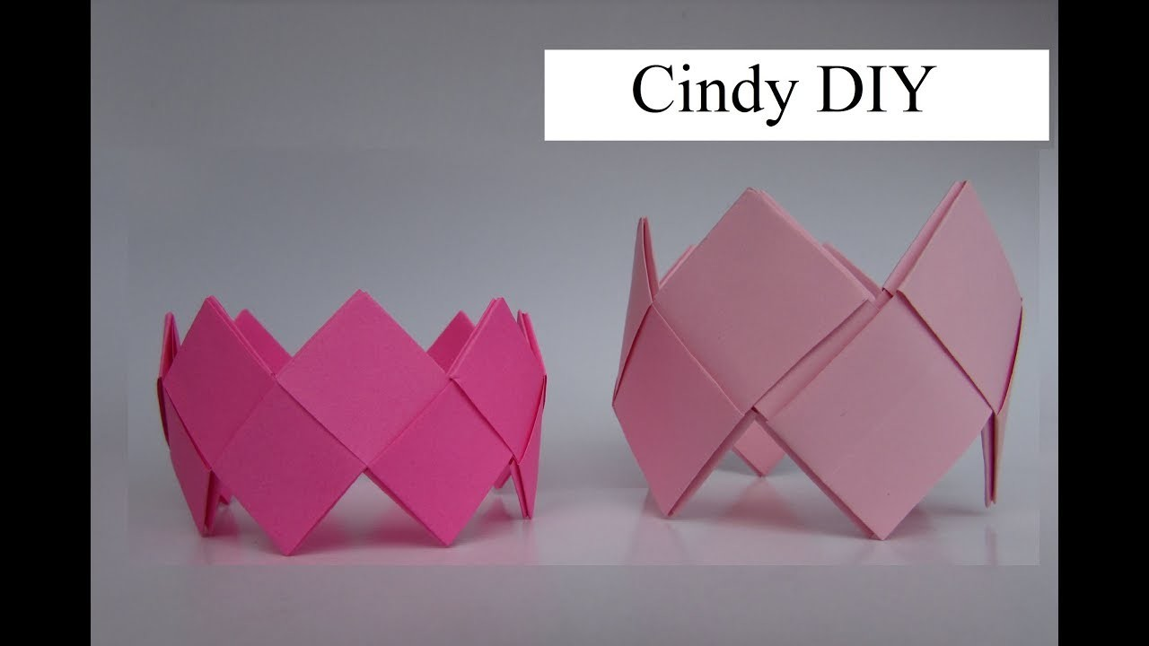 Origami Bracelet easy for boys & girls  instruction: DIY & How to | Cindy dIY 2017