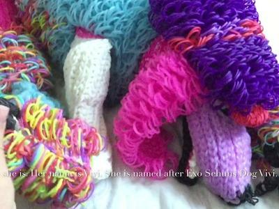 Rainbow Loom Adult Poodle (credit To Cortney Nicole)