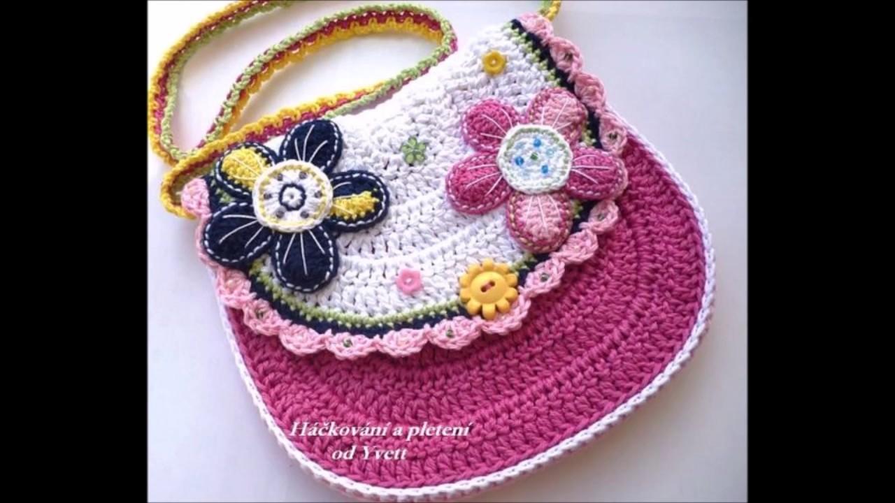 Top 10 crochet bolsos para ni a tejidos a ganchillo - Bolsos tejidos a crochet ...
