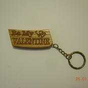 Valentines day gift, Valentine's Day Keyring, Valentine's gift for him, Valentine's gift for her
