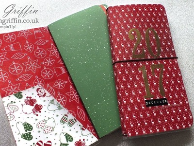 1st Day of Christmas 2017 | 2 in 1 Planner & December Daily - PART 2