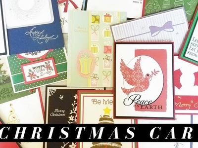 25 Christmas Card Ideas from a Card Swap