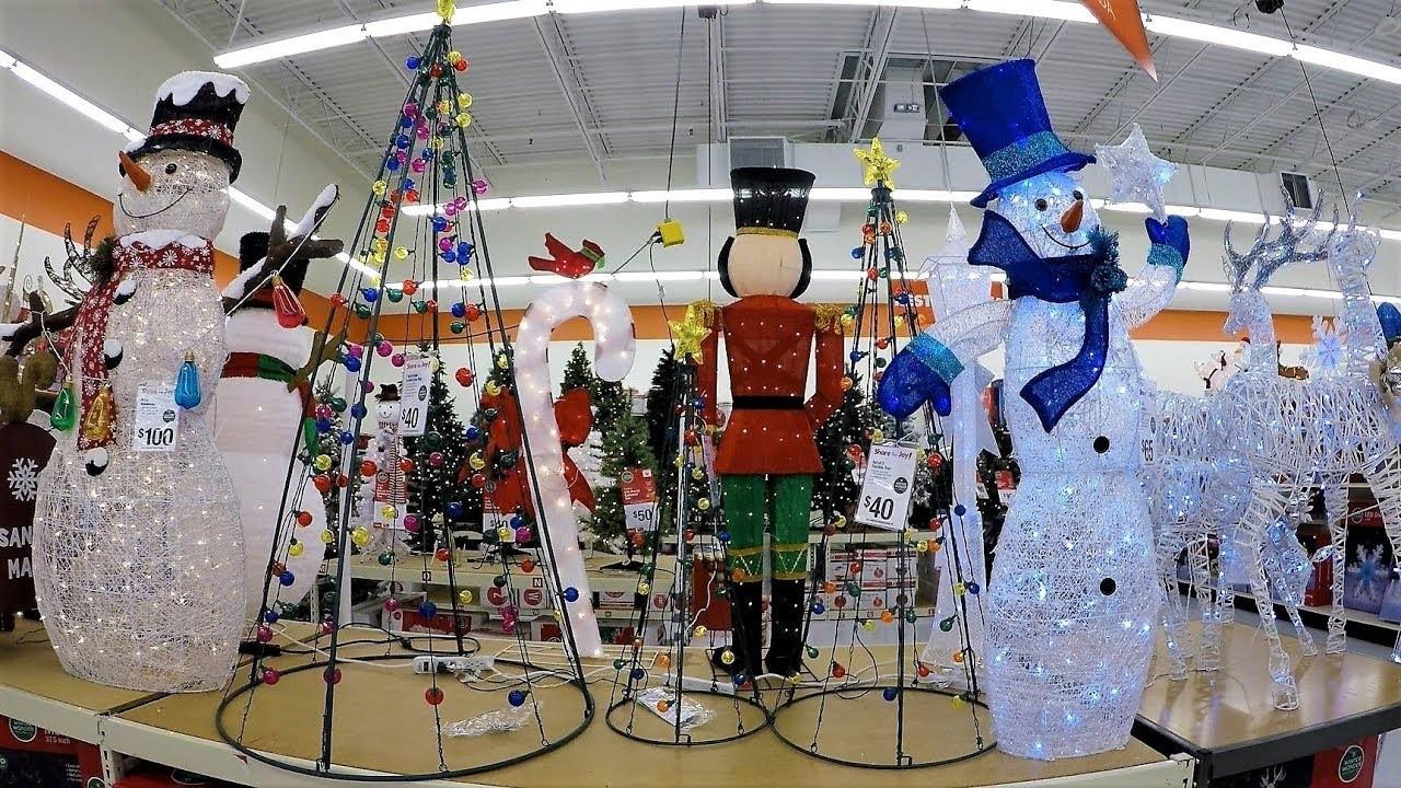 4K CHRISTMAS SECTION AT BIG LOTS