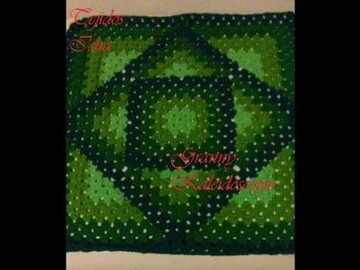 52.- Granny Kaleidoscopio a Crochet