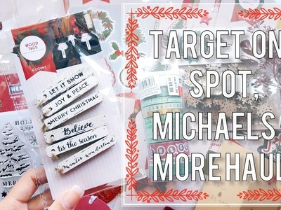 Another Christmas Craft Haul | Target, Michaels + More