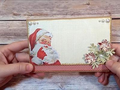 Box Christmas Mini Album