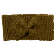 Brown Knitted Wool Handmade Hairband for Women