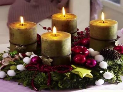 Candle Centerpiece Ideas Christmas Decorations