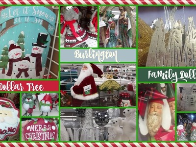 Christmas 2017! Dollar Tree????Burlington Coat Factory????Family Dollar!