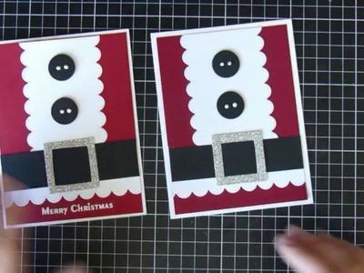 Christmas card #6    Crafting    Christmas Series