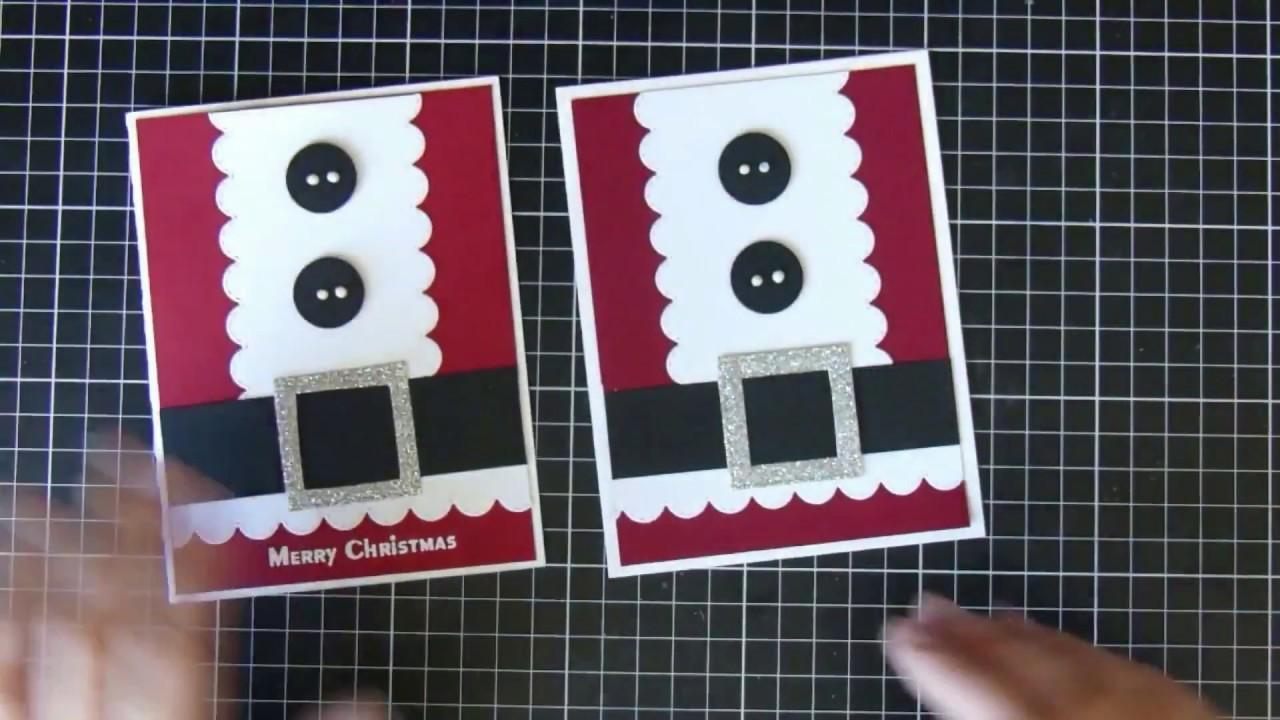 Christmas card #6 || Crafting || Christmas Series