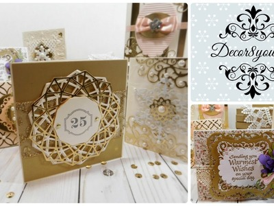 Christmas Cards Ideas for 2017   Spellbinders Holiday Bundle