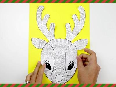 Christmas Craft - Funky Reindeer