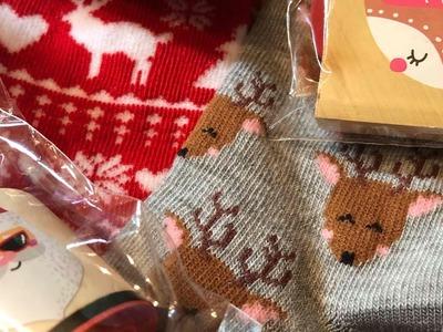 Christmas is arriving at ????????Target Dollarspot .  washi, stamps, socks