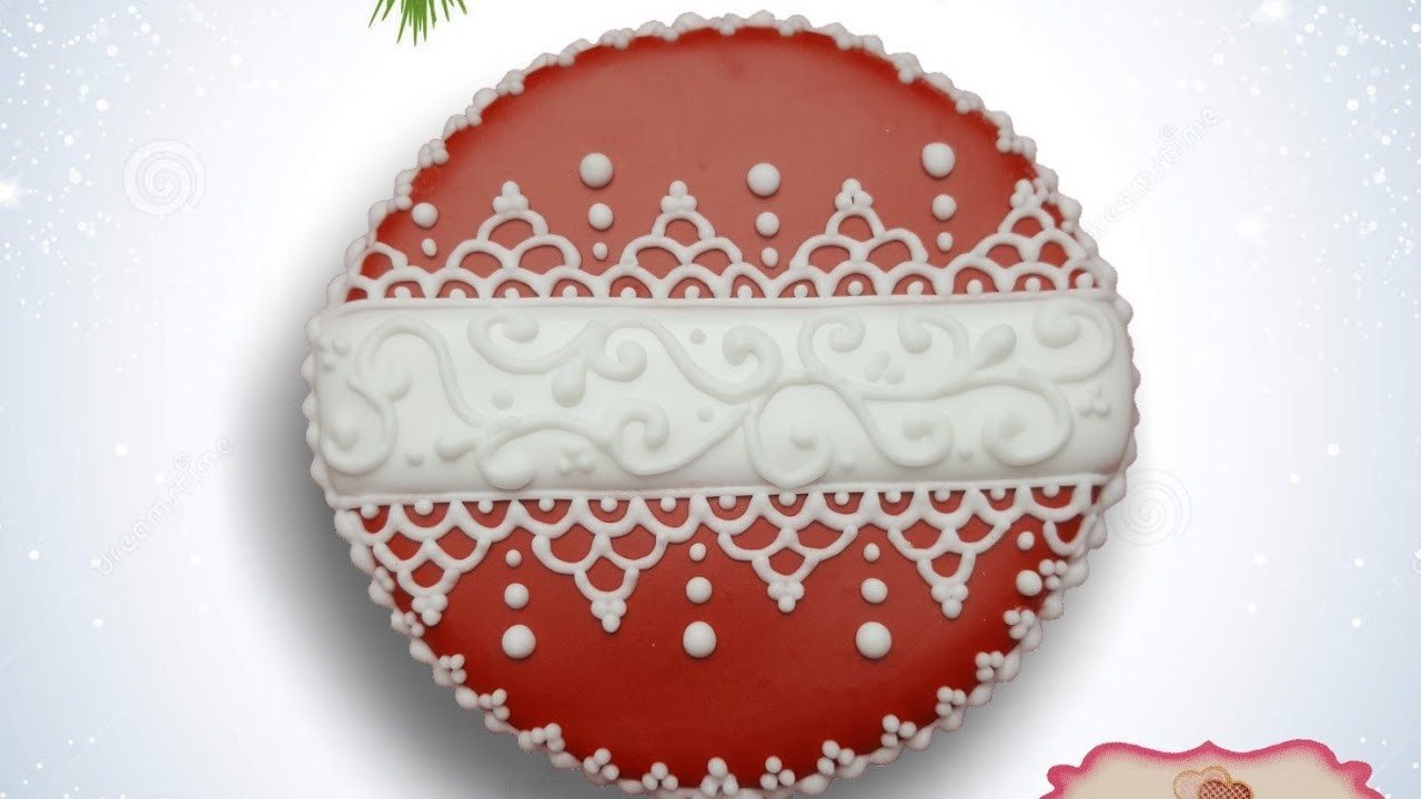 Christmas ornament sugar cookie (How to)