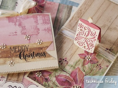 Christmas Pop Up Card | Technique Friday with Els