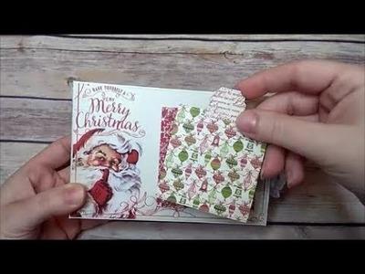Christmas Time 4 x 6 Mini Album