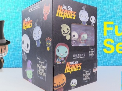 Disney Nightmare Before Christmas Funko Pint Size Heroes Full Set Opening Toy Review | PSToyReviews