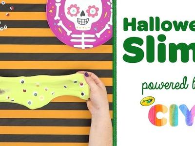 DIY Halloween Slime || Crayola CIY: Create It Yourself