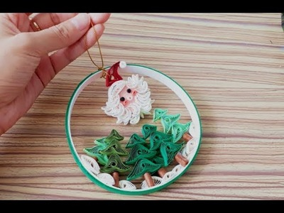 DIY Paper Quilling  - Easy & Simple  Christmas design 21