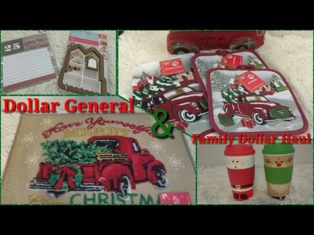 Dollar General & Family Dollar Christmas Haul 2017
