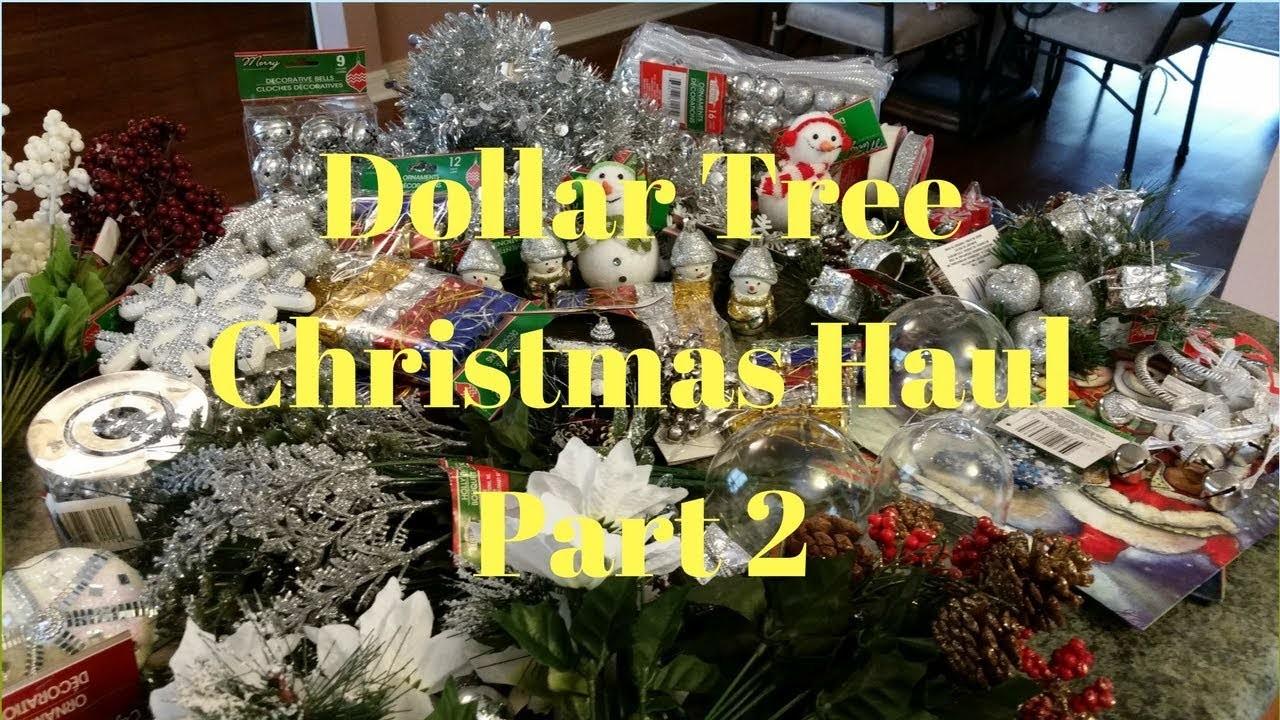 Dollar Tree Christmas Haul Part 2