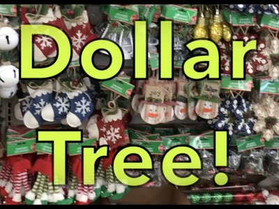 Dollar Tree Christmas set 2017 & Small Haul