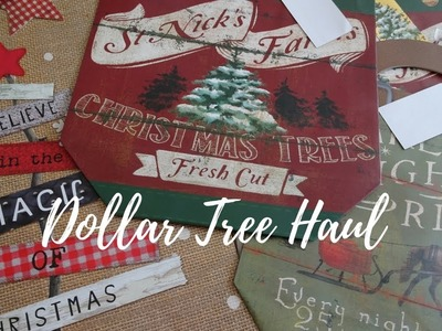 Dollar Tree Haul More Christmas items & annoucement