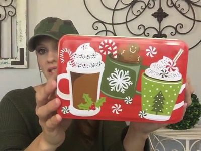 DOLLAR TREE HAUL | NEW Christmas Cards, Ornaments, and Boxes!