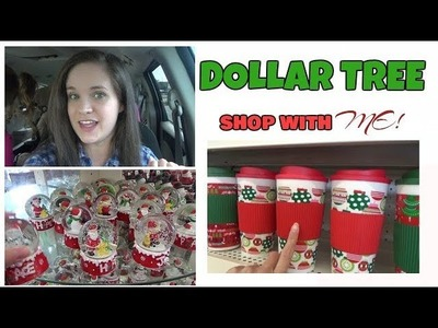 DOLLAR TREE SHOP WITH ME || THANKSGIVING & CHRISTMAS 2017