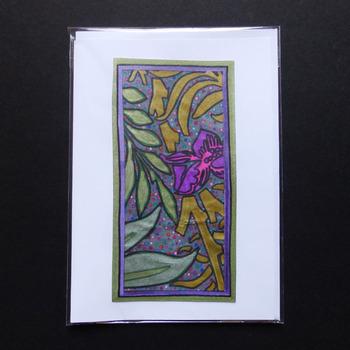 Handmade card - Blank card