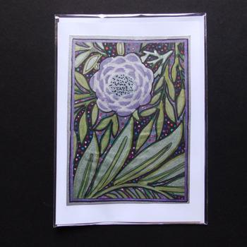 Handmade card - Floral