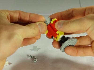 How To Build A LEGO Nutcracker Christmas Ornament