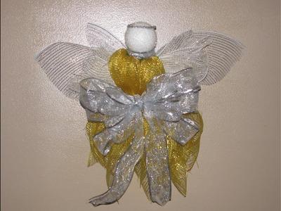 How to make Carmen's Christmas Angel Door Hanger