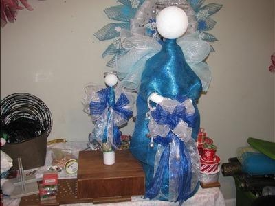 How to make Carmen's Christmas Angel Tree Topper