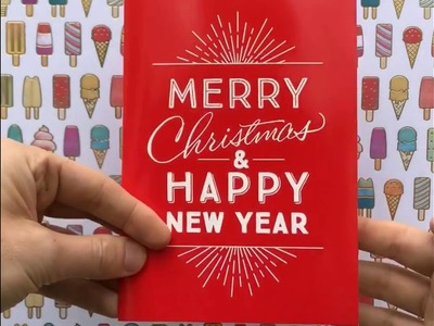 Joker Greeting Christmas Greeting Card
